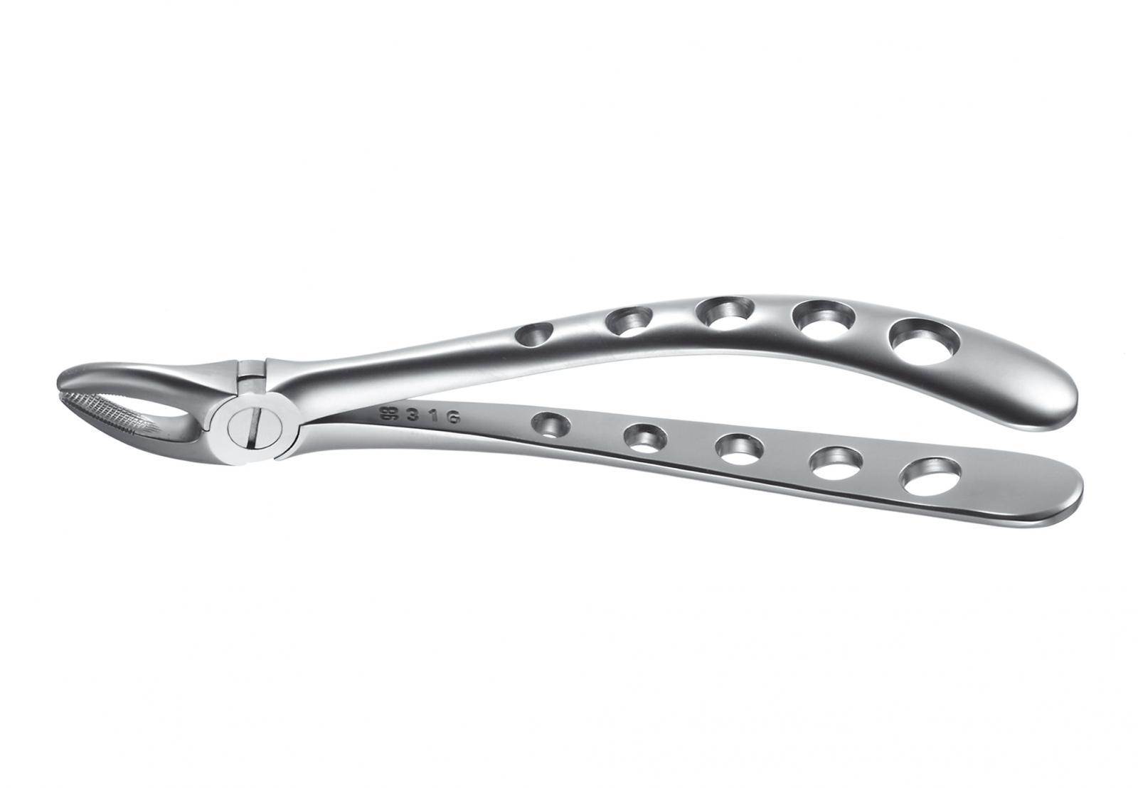 Zahnzange, engl. Form , Fig. 7 obere Prämolaren Tac-Traction, 16cm