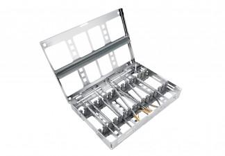 SCHWERT Design Mikro - Chirurgie - Basis Set im Tray mit Deckel