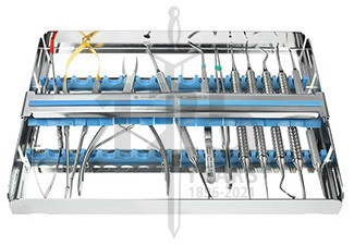 Weichgewebemanagement- Set im Tray