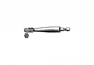 Fräser Fig. 1 HUDSON Ø 9mm